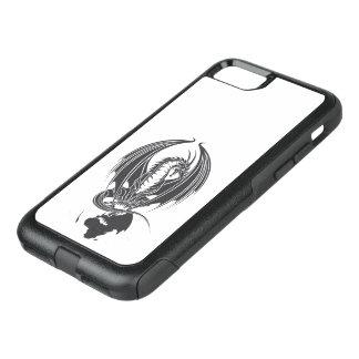 Funda Commuter De OtterBox Para iPhone 8/7 Estando sentado en la bala de mundo dragón…