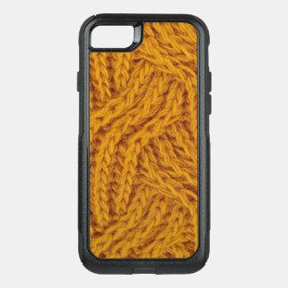 Funda Commuter De OtterBox Para iPhone 8/7 Hilado amarillo hecho punto