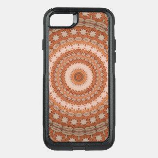 Funda Commuter De OtterBox Para iPhone 8/7 Mandala de la estrella del caleidoscopio en