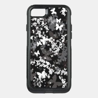 Funda Commuter De OtterBox Para iPhone 8/7 Mariposas en el color blanco-gris-negro <3