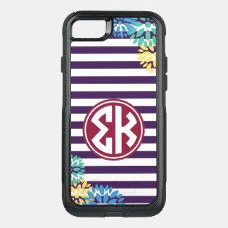Funda Commuter De OtterBox Para iPhone 8/7 Modelo de la raya del monograma de Kappa el   de