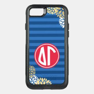 Funda Commuter De OtterBox Para iPhone 8/7 Modelo de la raya del monograma de la gamma el |