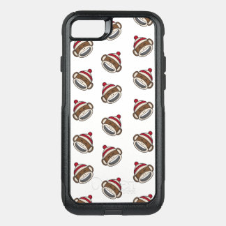 Funda Commuter De OtterBox Para iPhone 8/7 Mono grande Emoji del calcetín de la sonrisa