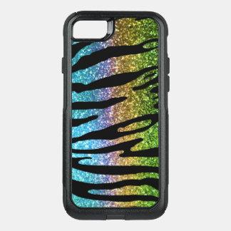 Funda Commuter De OtterBox Para iPhone 8/7 Nutria de la caja de la raya del tigre del arco