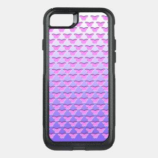 Funda Commuter De OtterBox Para iPhone 8/7 Pendiente rosada de la mariposa