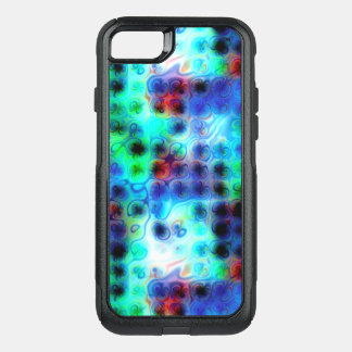 Funda Commuter De OtterBox Para iPhone 8/7 Puntos azules líquidos