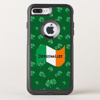 Funda Commuter De OtterBox Para iPhone 8 Plus/7 Pl Bandera irlandesa con los tréboles