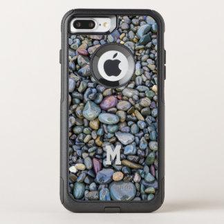 Funda Commuter De OtterBox Para iPhone 8 Plus/7 Pl Cajas de encargo del teléfono del monograma de los