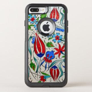 Funda Commuter De OtterBox Para iPhone 8 Plus/7 Pl Diseño floral turco