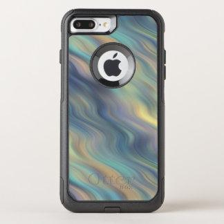Funda Commuter De OtterBox Para iPhone 8 Plus/7 Pl Extracto en colores pastel de las corrientes que