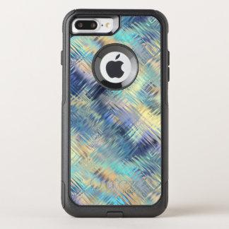 Funda Commuter De OtterBox Para iPhone 8 Plus/7 Pl Extracto moderado del vidrio del arco iris