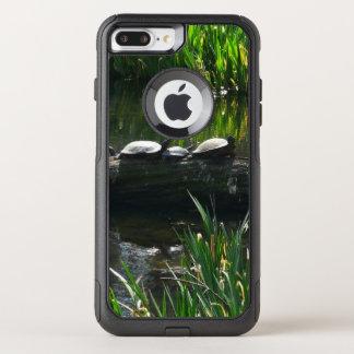 Funda Commuter De OtterBox Para iPhone 8 Plus/7 Pl Fila de la foto verde de la naturaleza de las