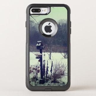 Funda Commuter De OtterBox Para iPhone 8 Plus/7 Pl La belleza del invierno