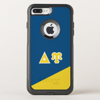 Funda Commuter De OtterBox Para iPhone 8 Plus/7 Pl Letras del Griego de Upsilon el   del delta