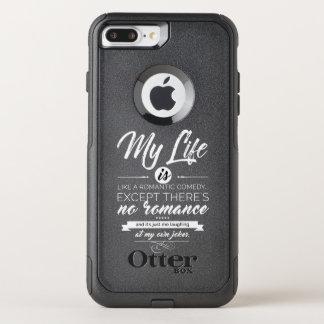 Funda Commuter De OtterBox Para iPhone 8 Plus/7 Pl Mi vida es como una comedia romántica