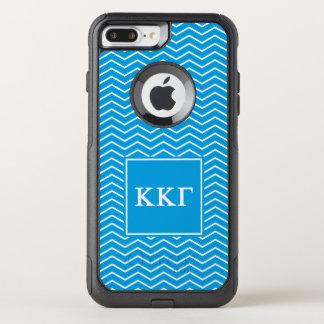 Funda Commuter De OtterBox Para iPhone 8 Plus/7 Pl Modelo de la gamma el | Chevron de Kappa Kappa