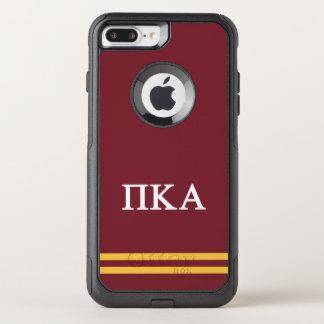 Funda Commuter De OtterBox Para iPhone 8 Plus/7 Pl Raya del deporte de la alfa el | del pi Kappa