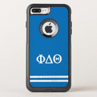 Funda Commuter De OtterBox Para iPhone 8 Plus/7 Pl Raya del deporte de la theta el | del delta de la