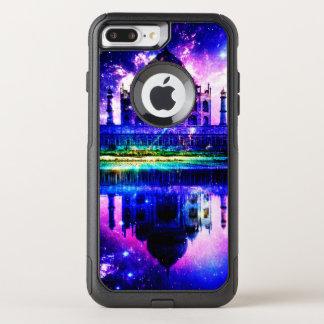 Funda Commuter De OtterBox Para iPhone 8 Plus/7 Pl Sueños iridiscentes del Taj Mahal