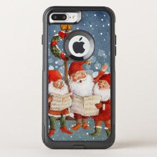 Funda Commuter De OtterBox Para iPhone 8 Plus/7 Pl Trío de los duendes del canto