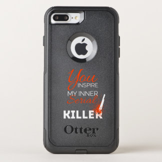 Funda Commuter De OtterBox Para iPhone 8 Plus/7 Pl Usted inspira a mi asesino en serie interno
