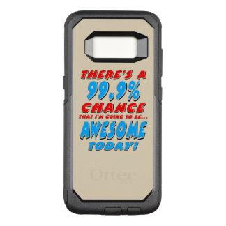 Funda Commuter De OtterBox Para Samsung Galaxy S8 99,9% El IR A SER IMPRESIONANTE (negro)