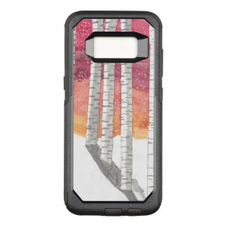 Funda Commuter De OtterBox Para Samsung Galaxy S8 Abedul en la nieve
