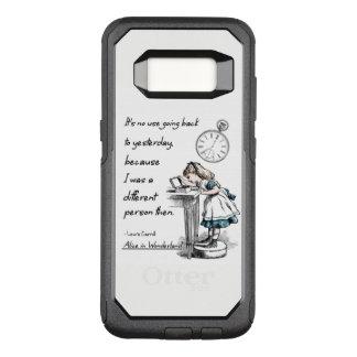 Funda Commuter De OtterBox Para Samsung Galaxy S8 Alicia en citas del país de las maravillas