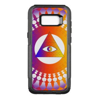 Funda Commuter De OtterBox Para Samsung Galaxy S8+ Alternativa del ojo de Illuminati