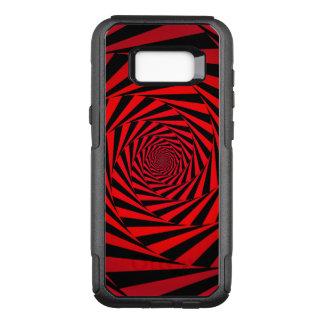 Funda Commuter De OtterBox Para Samsung Galaxy S8+ Alternativa espiral roja