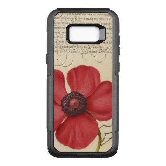 Funda Commuter De OtterBox Para Samsung Galaxy S8+ Amapola roja y el insecto