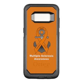 Funda Commuter De OtterBox Para Samsung Galaxy S8 Ancla de la esclerosis múltiple de la esperanza
