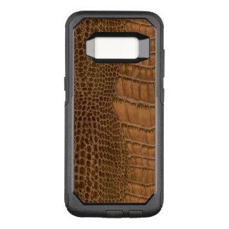 Funda Commuter De OtterBox Para Samsung Galaxy S8 Animal de imitación del vegano del cocodrilo de