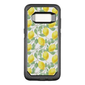 Funda Commuter De OtterBox Para Samsung Galaxy S8 Árbol de limón fructífero