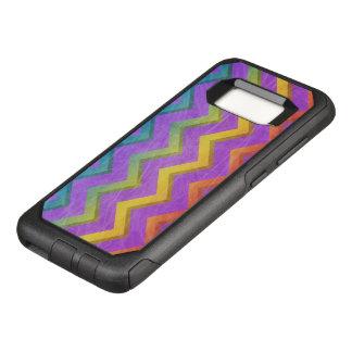 Funda Commuter De OtterBox Para Samsung Galaxy S8 Arco iris Chevron de Shirley Taylor