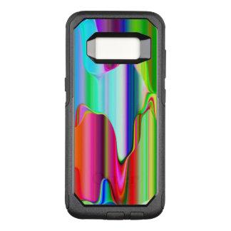 Funda Commuter De OtterBox Para Samsung Galaxy S8 Arco iris de fusión