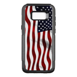Funda Commuter De OtterBox Para Samsung Galaxy S8+ Bandera americana