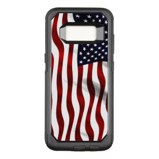 Funda Commuter De OtterBox Para Samsung Galaxy S8 Bandera americana