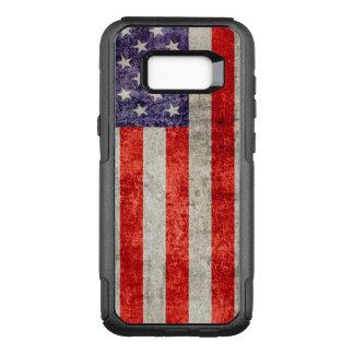Funda Commuter De OtterBox Para Samsung Galaxy S8+ Bandera americana antigua de Falln