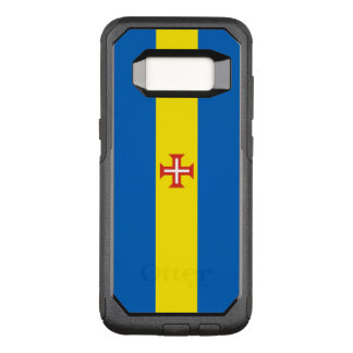 Funda Commuter De OtterBox Para Samsung Galaxy S8 Bandera de la caja de Madeira Samsung OtterBox