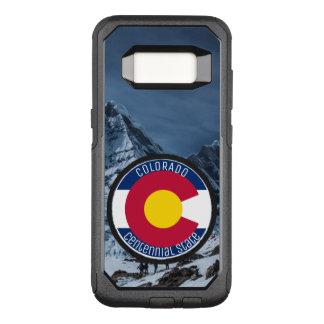 Funda Commuter De OtterBox Para Samsung Galaxy S8 Bandera de la circular de Colorado