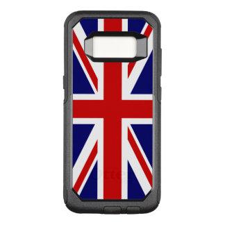 Funda Commuter De OtterBox Para Samsung Galaxy S8 Bandera de Union Jack del Reino Unido