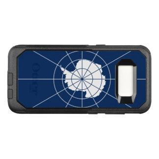 Funda Commuter De OtterBox Para Samsung Galaxy S8 Bandera del caso antártico de Samsung OtterBox del