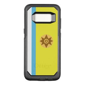 Funda Commuter De OtterBox Para Samsung Galaxy S8 Bandera del caso canario de Samsung OtterBox del