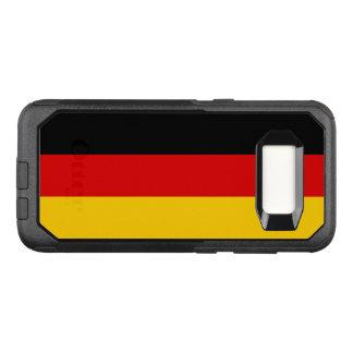 Funda Commuter De OtterBox Para Samsung Galaxy S8 Bandera del caso de Alemania Samsung OtterBox