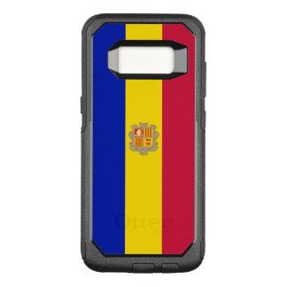 Funda Commuter De OtterBox Para Samsung Galaxy S8 Bandera del caso de Andorra Samsung OtterBox