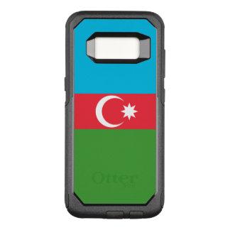 Funda Commuter De OtterBox Para Samsung Galaxy S8 Bandera del caso de Azerbaijan Samsung OtterBox