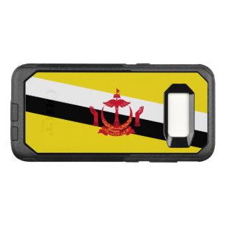 Funda Commuter De OtterBox Para Samsung Galaxy S8 Bandera del caso de Brunei Samsung OtterBox