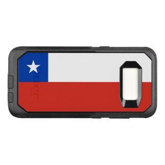 Funda Commuter De OtterBox Para Samsung Galaxy S8 Bandera del caso de Chile Samsung OtterBox