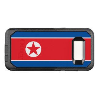 Funda Commuter De OtterBox Para Samsung Galaxy S8 Bandera del caso de Corea del Norte Samsung